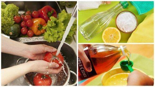 Les 7 meilleures astuces pour désinfecter vos fruits et vos légumes