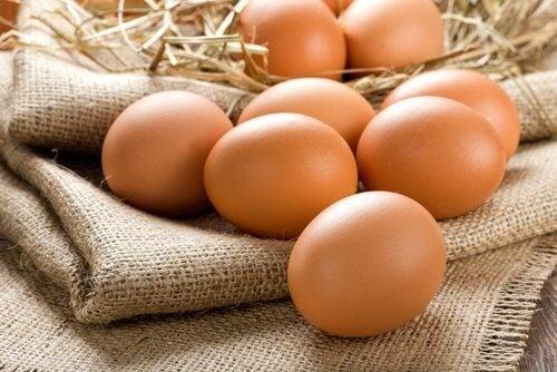 Les œufs font partie des aliments énergétiques.