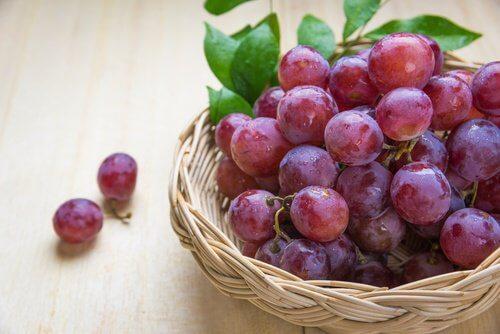 Les raisins fait partie des aliments énergétiques.