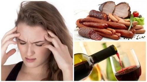 9 produits alimentaires pouvant expliquer une migraine