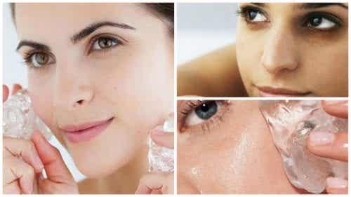 Les 7 bienfaits d'un glaçon sur la peau