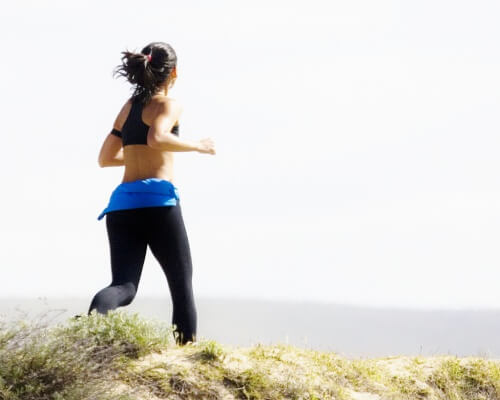 éliminer les liquides avec du sport de haute intensité