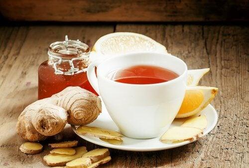 consommer du gingembre sous forme de thé