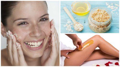 5 soins beauté au sucre pour les problèmes de peau fréquents