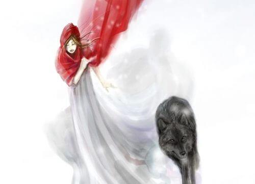 petit chaperon rouge loup
