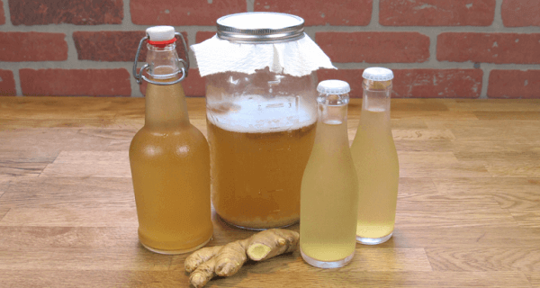 L'eau au gingembre pour perdre du poids.