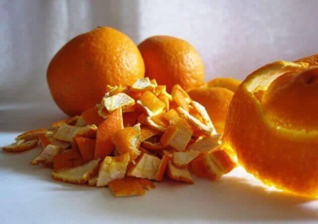 L'orange pour les douleurs de cou.