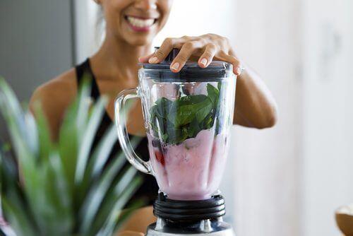 mixeur smoothies riches en protéines végétales