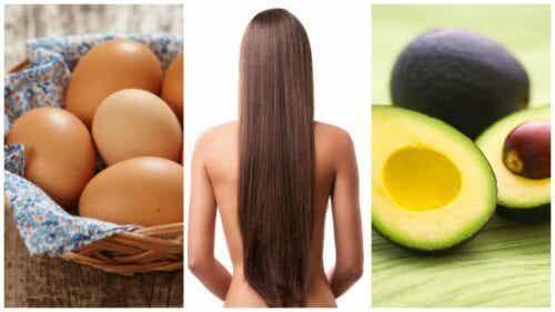Accélérer la croissance des cheveux avec 8 aliments