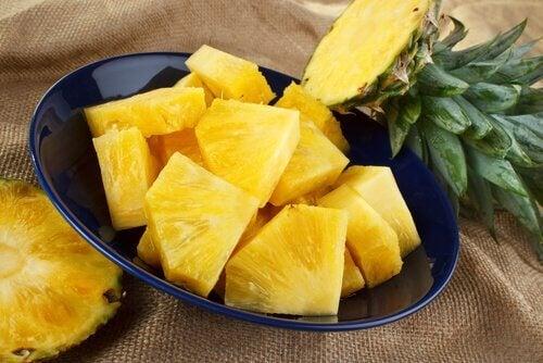 L'ananas contre la douleur.