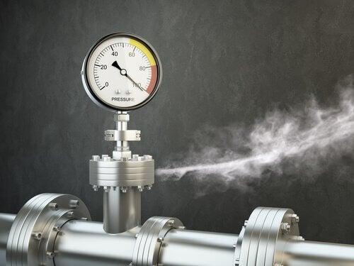 le savon détecte les fuites de gaz