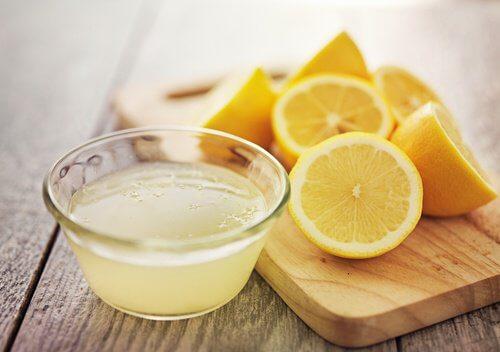 Le citron contre l'acide urique.
