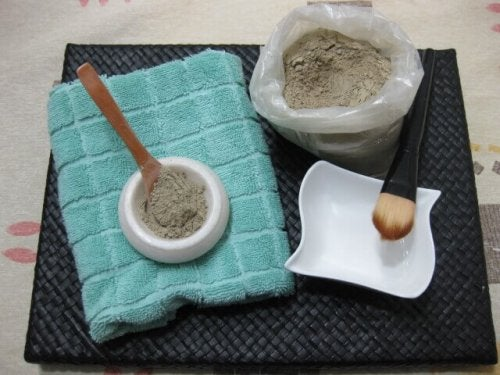 Préparer un masque vert