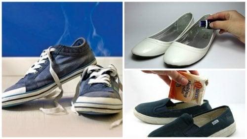 6 astuces pour éliminer les mauvaises odeurs dans les chaussures