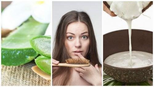6 remèdes maison pour lutter contre la chute des cheveux