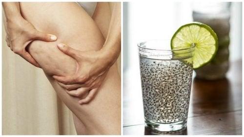 Boisson médicinale au lin pour combattre la cellulite et améliorer la santé de la peau