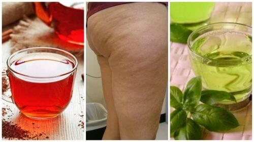Combattez la cellulite avec ces 6 boissons aux herbes