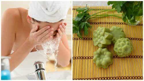 Comment préparer un savon au persil pour atténuer les taches du visage