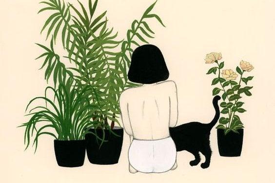 La satisfaction des besoins de base pour faire pousser les fleurs des jardins.