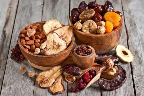 les fruits secs ne sont pas des aliments sains