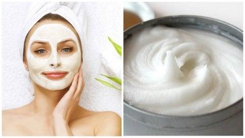 Un masque à l'aspirine et au yaourt pour éclaircir les taches du visage