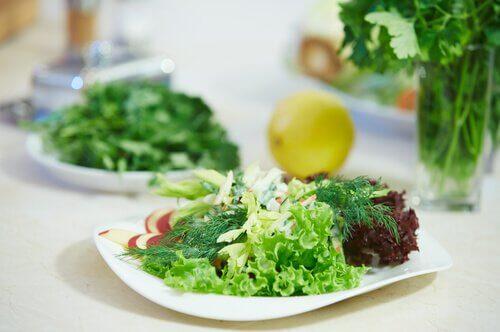 les salades toutes prêtes