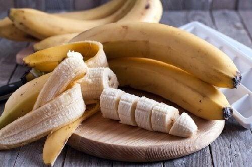 Masques au miel et à la banane.