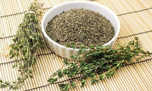 herbe pour purifier poumons thym