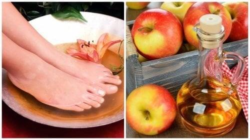 6 bienfaits du bain de pieds au vinaigre