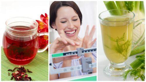6 infusions naturelles pour perdre du poids plus facilement