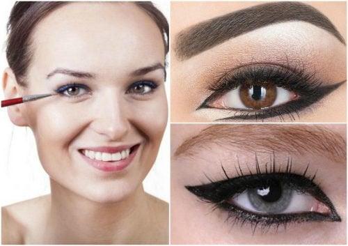 6 manières différentes de maquiller vos yeux et d'avoir un regard désirable