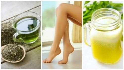 Soulagez vos jambes gonflées avec ces 6 remèdes naturels