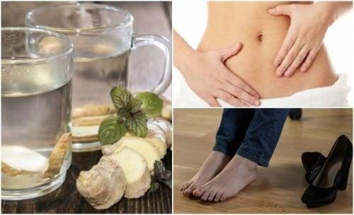 7 bienfaits que vous obtenez en buvant de l'eau de gingembre à jeun