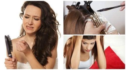 7 causes de la chute de cheveux