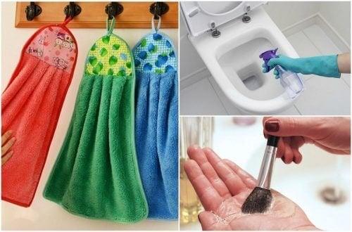 9 choses de votre maison à nettoyer tous les jours