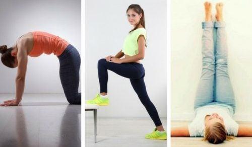 9 exercices que vous pouvez faire le matin en 9 minutes pour être en forme