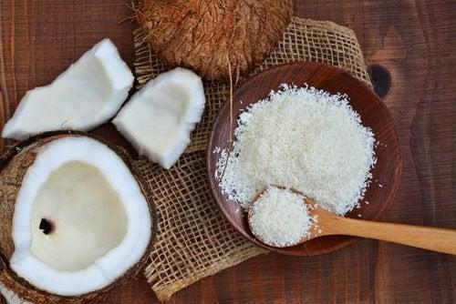 gâteaux super-nutritifs à base de noix de coco