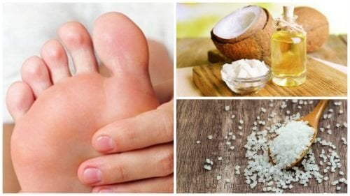 Comment préparer un exfoliant pour les cors aux pieds à l'huile de coco et au sel