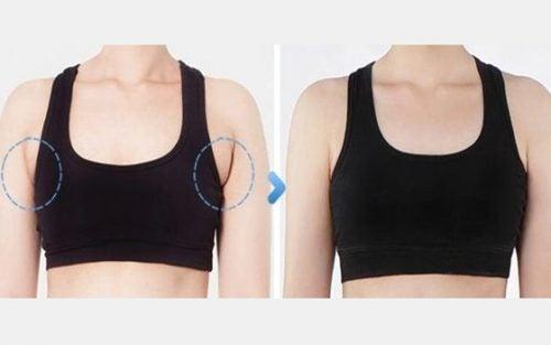 Image result for Avez-vous de la graisse aux aisselles qui sort de votre soutien-gorge? Voici ce que vous pouvez faire à ce sujet