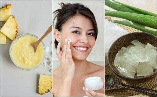 Raffermissez la peau de votre visage avec ces 5 traitements naturels