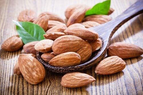 les amandes pour augmenter votre consommation de vitamine E