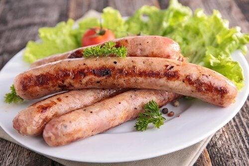 aliments à diminuer en cas de cellulite : charcuterie