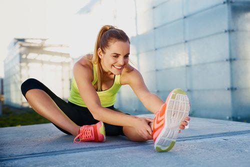 Etirements contre la douleur musculaire.