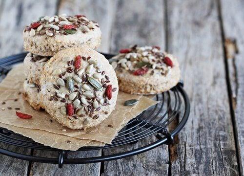 gâteaux super-nutritifs