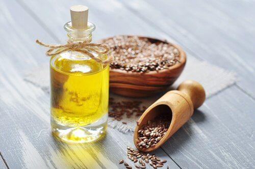 L'huile de lin pour la peau.