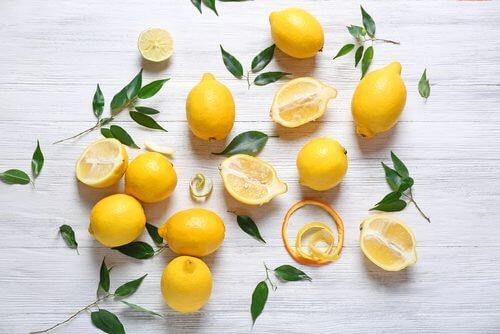le citron dans les limonades maison
