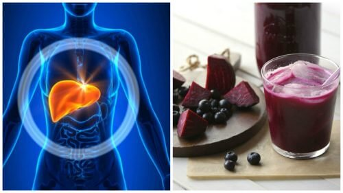 Bilberry and beetroot juice to detoxify the liver