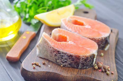 2 tranches de saumons