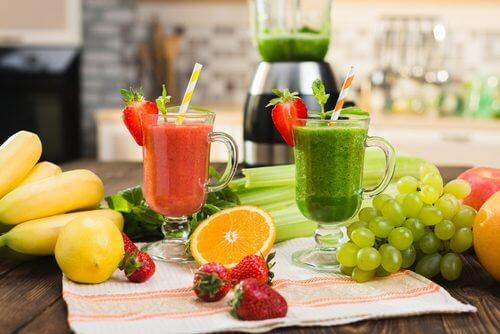 smoothies permettant d'éliminer les toxines