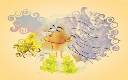 La respiration profonde pour le stress.